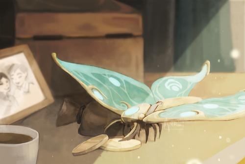 the dragon prince tdp tdpart moth artists on tumblr illustration art digital art artvercwh