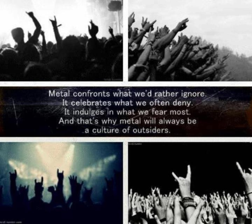 metal Metalcore metal fashion metalhead culture life the outsiders quotes