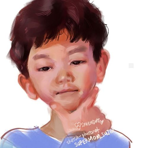 work in progress sketch, exploring painting hard/soft contrasts. not sure i will finish this one.#spaeart #wip #wipart #canberraartist #sketchbook #digitalsketchbook #leesian #instaart #clipstudiopaint #wacom #digitalart #babyportraits https://ift.tt/3do9Bvu