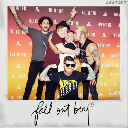 Fob blog fob mgconcert story pics fob meet and greet boys of zummer fall out boy me my face mine my art dallas 7 25 15 tx story about ik its really long haha sorry but i wanted m4hsunfo