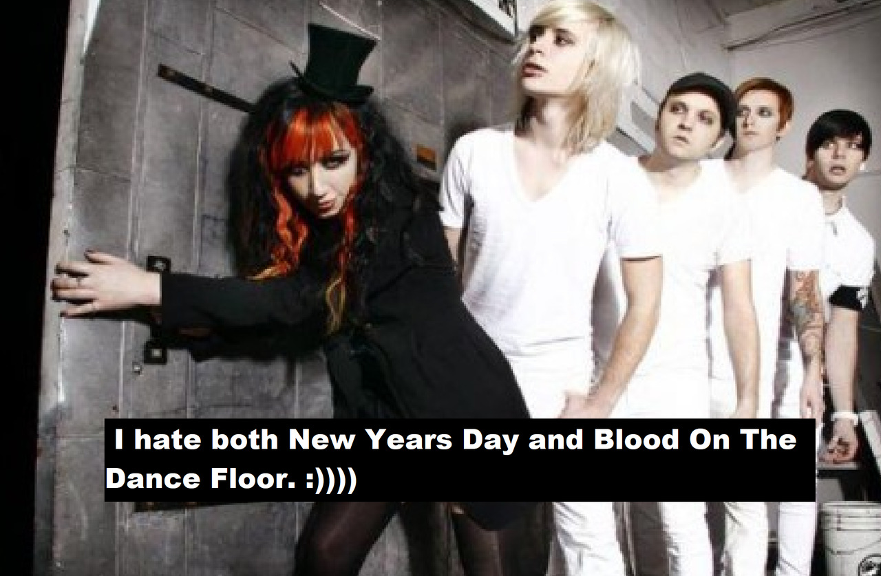 Female Fronted Bands Confessions