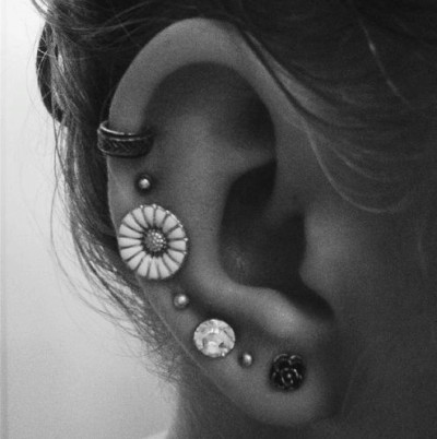 Upper Ear Piercing Tumblr