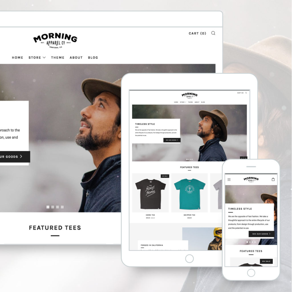 Beautiful, clever & affordable Shopify & Tumblr themes