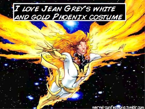 blackphoenix77 Jean Grey White Phoenix Phoenix costumes themed week