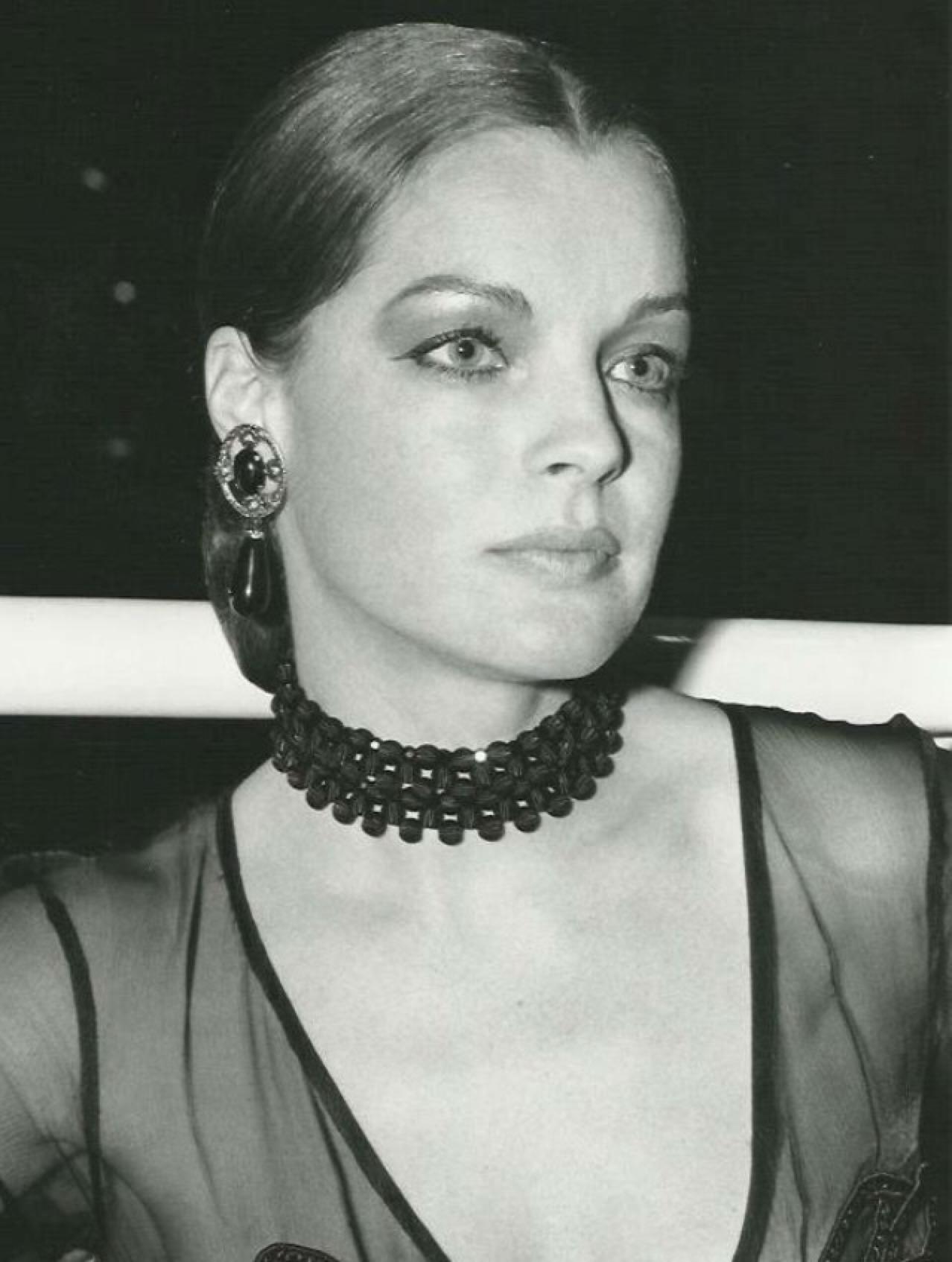 Romy Schneider, première de Les Choses de la Vie 1972