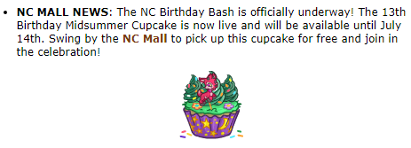 Get your free cupcake friends! #neopets#psa#neotag