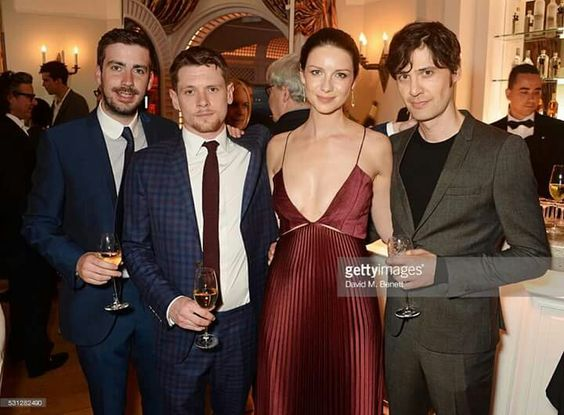 When is caitriona balfe getting married  Actress Caitriona