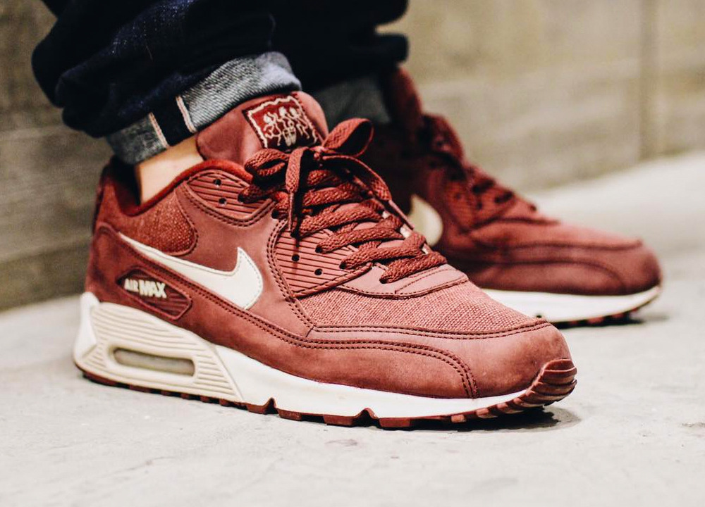 777e39d6f17ea1 Nike Air Max 90  Redwood  (by lyam.exchng) – Sweetsoles – Sneakers ...