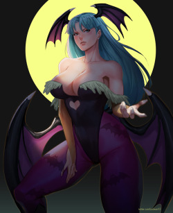 Morrigan - SFW>NSFW by X3As found at