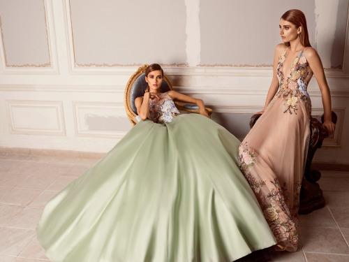 hamda al fahim fall/winter 15/16 collection evening gowns fashion shoot fashion photography