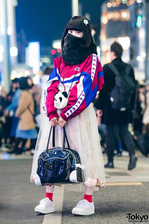 Harajuku Japanese fashion kawaii fashion Kappa panda bag