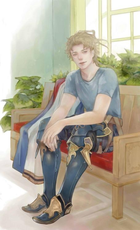 #granblue fantasy#drawing#fanart#seofon gbf#siete gbf#gbf#baladokentangdraws