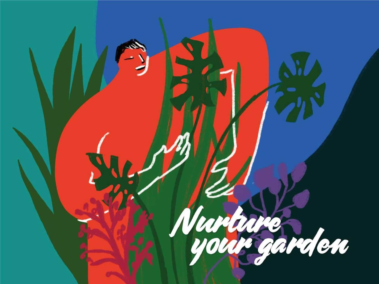 Nurture your garden. #illustration#garden#nurture#nature#lovegreen#greenlove#plantlover#naturelover#illo#gardening #illustrators on tumblr #illustrator#dibujante#ilustración#naturaleza #amantes de la naturaleza #Plantas#amor#jardín#jardinero#gardener#nutrir