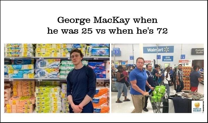 #george mackay#arnold schwarwho#shopping