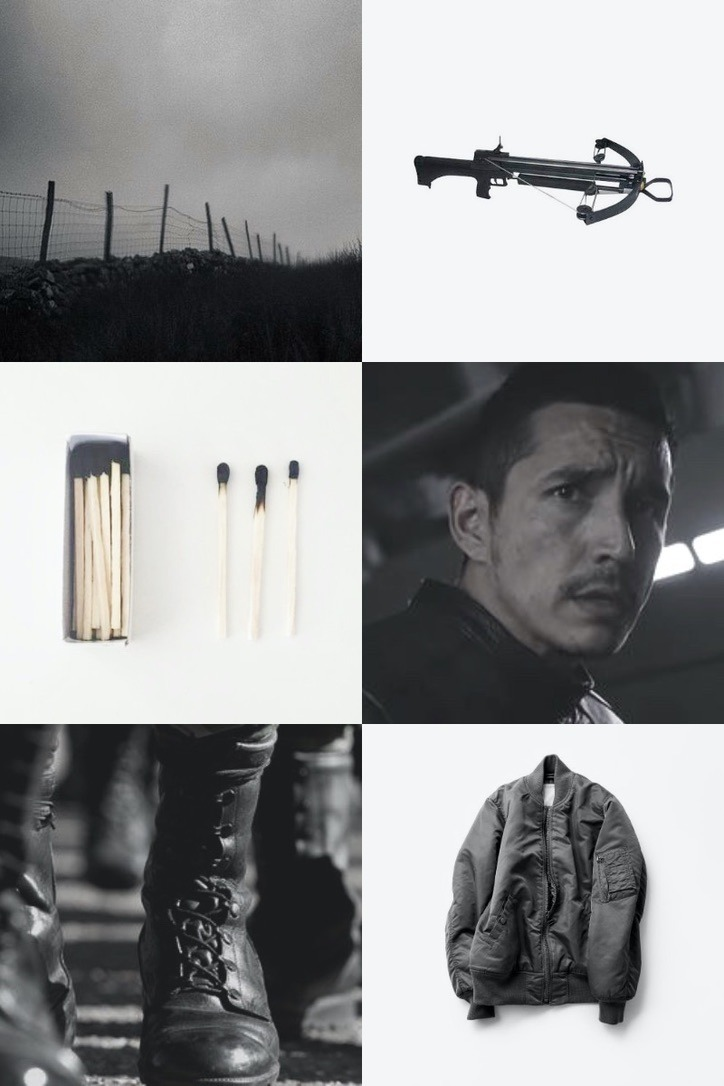 """Agents of SHIELD: The Hunger Games Series (3/15)  """"I do think you're mad and I'll still go with you."""" #agents of shield  #aos hunger games series #Robbie Reyes#gale hawthorne#maggies moodboards"""