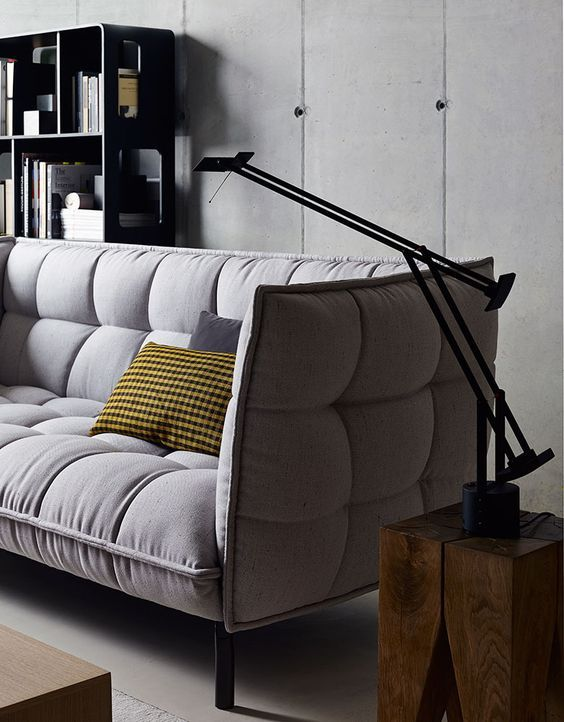 Sofa: HUSK-SOFA – Collection: B&B Italia – Design: Patricia Urquiola