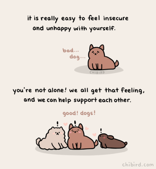 chibird — I make a lot of art about feeling better when we...