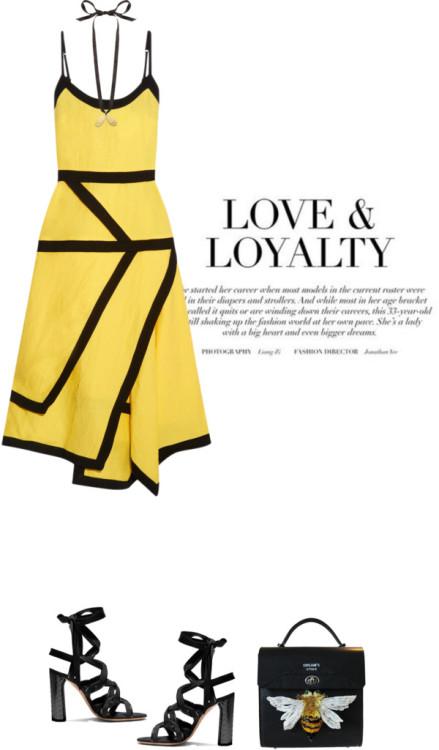 polyvore fashion style J.W. Anderson E L L E R Y clothing summerdatenight