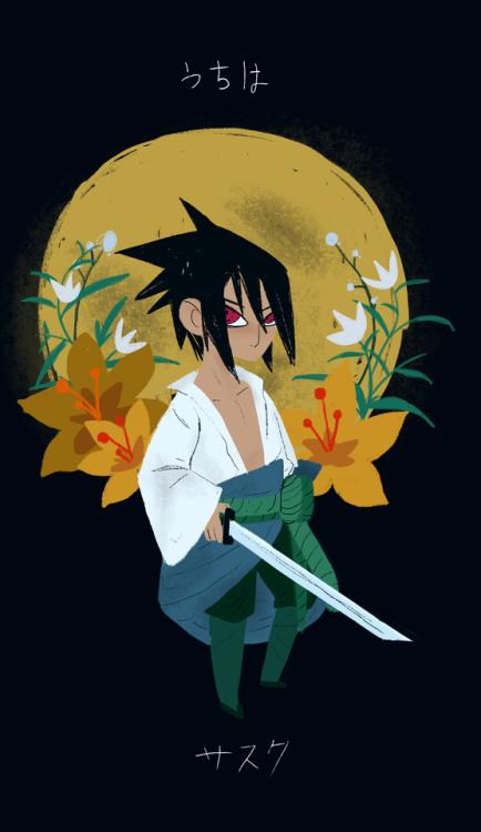 maybe I will make Itachi too when I come home. idk Sasuke qp fanart Naruto fanart