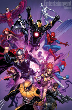 Inhumanity promo by Steve McNiven