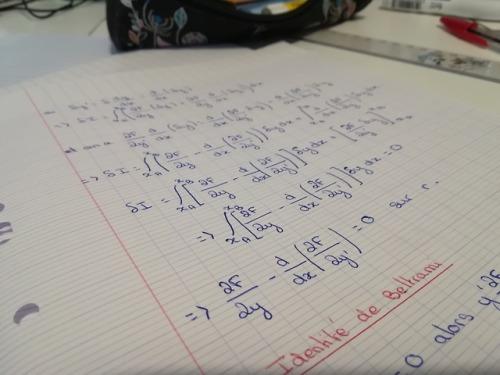 Studyblr Mathblr physicsblr French studyblr Workplace pictures Analytic mechanics Is that how you say it in English? Bref c& 039;est de la mécanique analytique quoi Ça me faisait peur mais en vrai je crois que ça va ???