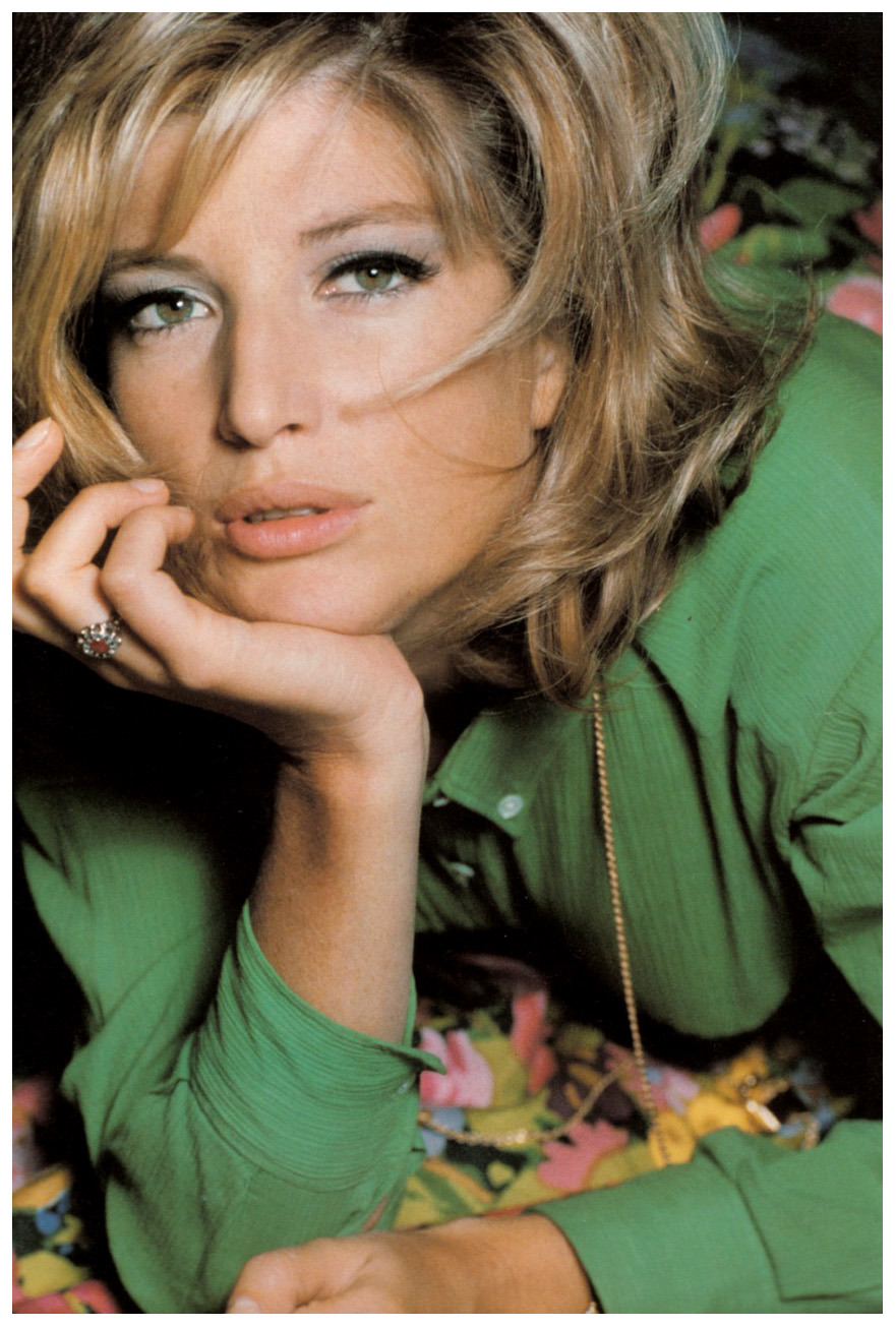 Monica Vitti,  Vogue, 1965 Photo © David Bailey