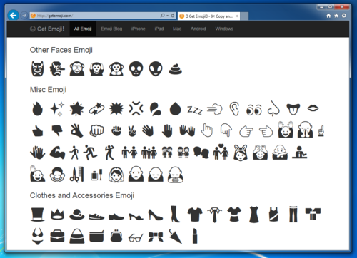 😋 Emoji Blog — how to use emoji in windows 7?