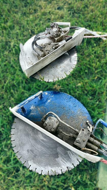 hydraulic handsaws