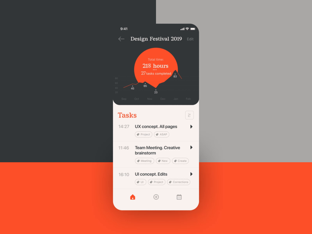 Task Tracker Interactions by Tubik #ui#ux#design drips#interface#animation#app design#design#design studio#graphic design#interaction#interaction design#mobile#mobile application#mobile screens#motion design#task management#task manager#task tracker#time tracker#ui animation#user experience
