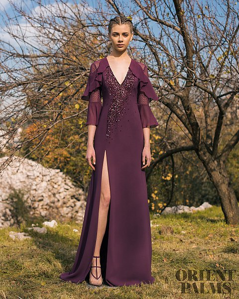 the fashion dish georges hobeika pre fall 2018 evening dress collection evening gowns formal fashion high fashion detail fashion details high slit dress sexy designer fashion red carpet ready orient palms