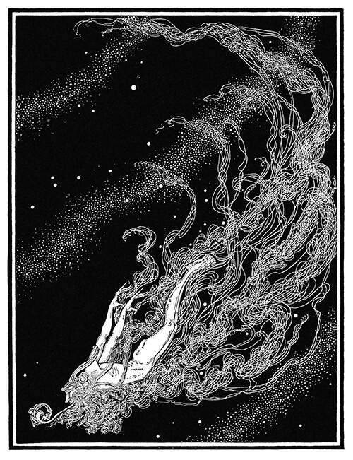 Calling It A Tail, Illustration from Dream Boats and Other Stories,1920 by Dugald Steward Walker #upl #Dugald Steward Walker #va#illustration