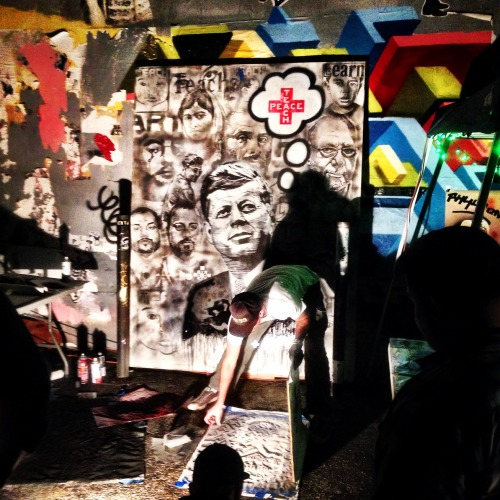 teacher tchr teach peace nelson mandela mandela madiba art fine art street art fame yard space twenty three los angeles