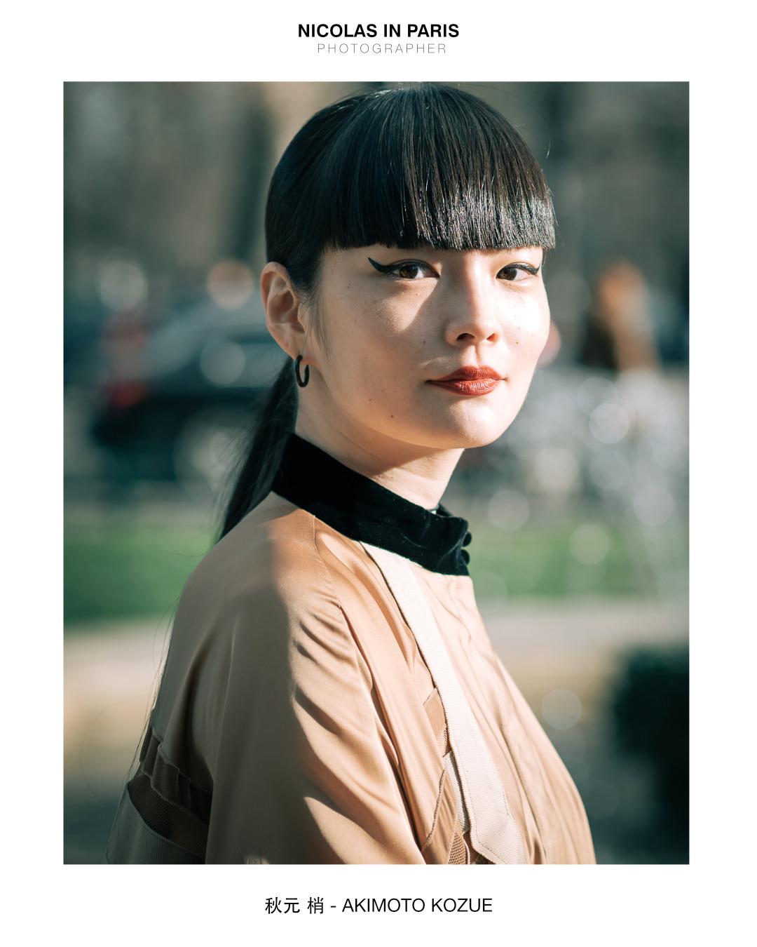 Japanese Model Akimoto Kozue attending Sacai show during Paris Fashion Week, January 2020 | 📸 by @nicolasinparis _Contact (please DM or Email)✉️Email: nicolasinparis1@gmail.com #street fashion#paris#france#pfw #paris fashion week #fashion week#akimoto kozue#akimotokozue#haute couture#sacai#お洒落#秋元梢#おしゃれ好き#fashionstyling#fashiondiary#modelportrait#globeportraits#celebritystyles#styledby#igfashionlovers