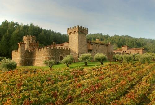 art design Architecture castle 13th century winery luxury lifestyle california calistoga usa castello amorosa castello di amorosa jim sullivan classical landscape
