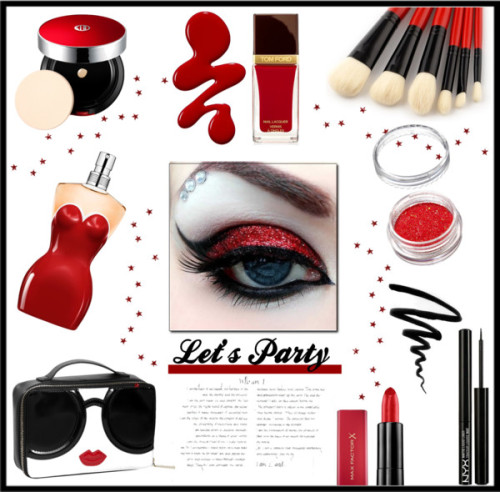 polyvore beauty Koh Gen Do Max Factor Bobbi Brown Cosmetics Jean-Paul Gaultier Tom Ford NYX