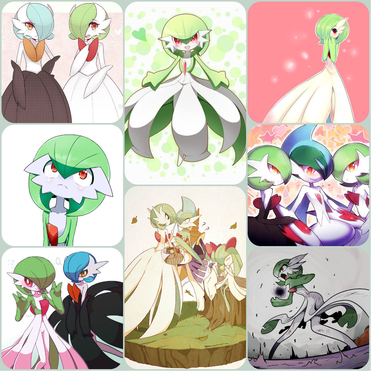 I made a little Gardevoir thingy. I'm not sure what to do with it though. I didn't draw any of the art,not mine. shrug #gardevoir#pokemon#random#ralts line#psychic#fairy