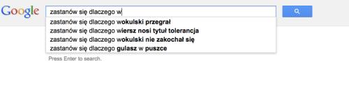 Wiersze Z Google Zastanów Się Zastanów Się Dlaczego