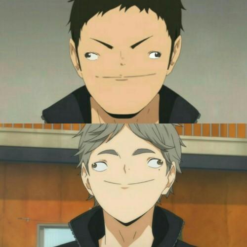 Haikyuu Weird Faces 1