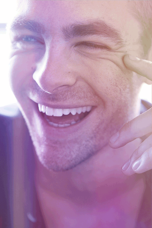 chris pine e* teeth yeee i made a thing! kf 100; legit perfect human being bychloe