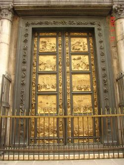 #352Puerta del Paraíso(Porta del Paradiso) * Lorenzo Ghiberti
