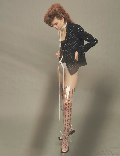 #newvogue#Marthe Wiggers#fashion