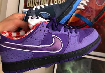 "designer fashion 45ddc 7d792  Concepts x Nike SB Dunk Low ""Purple Lobster"""