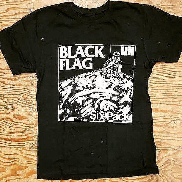 bb44eb862 AngryYoungandPoor.com — AYP Band Tee of the Day - Black Flag- Six ...