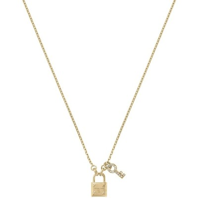 aa3fbcae5 t.umblr.com/redirect · Michael Kors Lock and Pave Key Pendant Necklace, 16