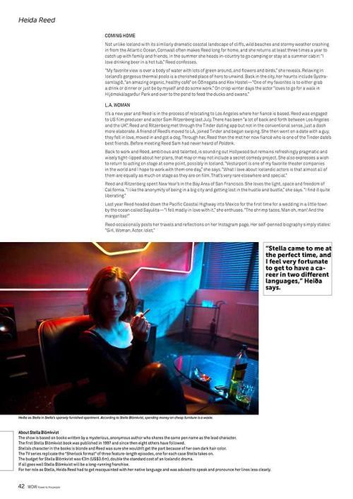 save off 91aa9 e271c WOW Magazine - Issue One, 2018  HeidaReed  Poldark  StellaBlómkvist.  Source  WOW air   Issuu