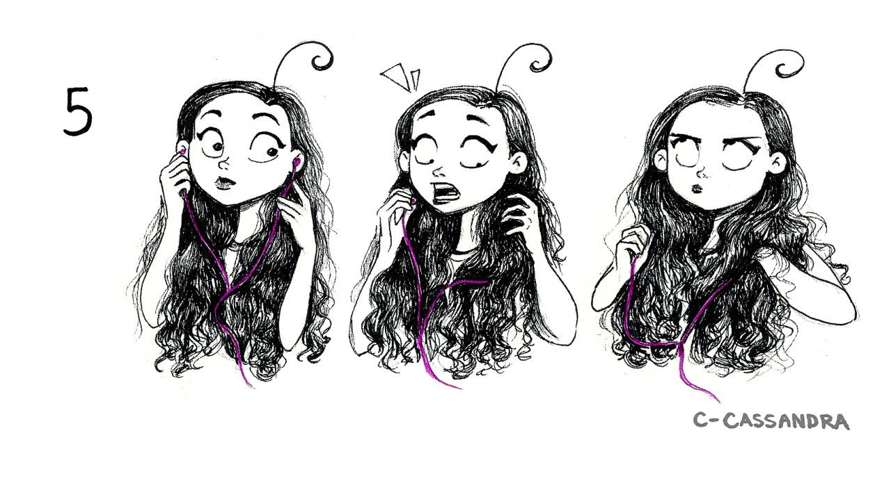 Спится, приколы в картинках о длинных волосах