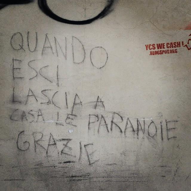 Theory Of Harmony Quando Esci Lascia A Casa Le Paranoie