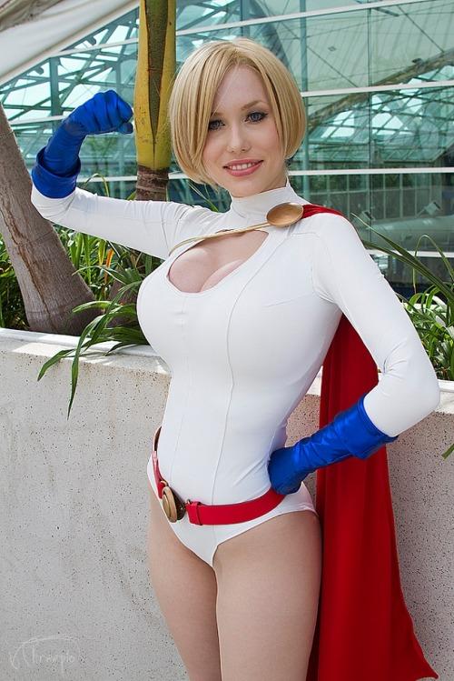 cosplay Power tumblr girl
