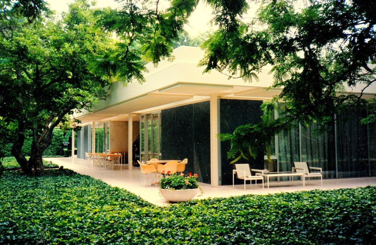Scandinavian Collectors Eero Saarinen The Miller House