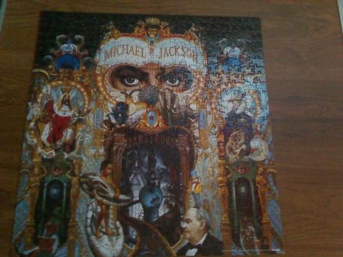 dangerous album album cover king of pop michael jackson puzzle dangerous era crafts